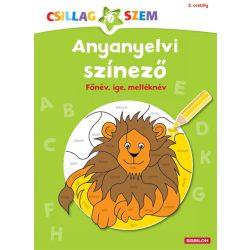 Kreatív könyvek - Anyanyelvi színező-Főnév, ige, melléknév