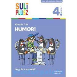 Foglalkoztató könyvek, füzetek - Suli plusz Kreatív írás Humor!