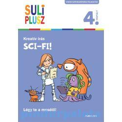 Foglalkoztató könyvek, füzetek - Suli plusz Kreatív írás Sci-fi!