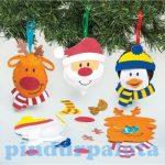 Kreatív Hobby készletek - Karácsonyi figurák varró dekorszett