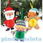 Kreatív Hobby - Készletek - Karácsonyi függődísz dekoráció