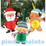Kreatív Hobby készletek - Karácsonyi függődísz dekoráció