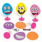 Kreativ hobby - Készletek - Funky Face rugós figura készítő szett Baker Ross