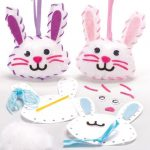 Kreatív Hobby - Készletek - Húsvéti nyuszis varró szett Baker Ross
