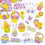 Kreatív Hobby - Készletek - Baker Ross Húsvéti habszivacs matricák