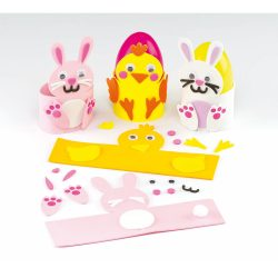 Kreatív Hobby - Készletek - Baker Ross Húsvéti tojástartó készítő szett