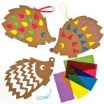 Kreatív hobby- Készletek - Ólomüveg hatású sündisznó dekoráció