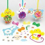 Kreatív Hobby - Készletek - Húsvéti pom pom dekorációs szett Baker Ross