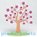 Kreatív játékok -  Virágzó fa jutalmazó játék