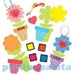 Kreatív hobby - Készletek - Ujjpárna virágkészítő