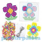 Kreatív hobby - Készletek - Virágos gyöngykép készítő