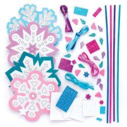Kreatív hobby készletek a gyermeki kreativitás kibontakozásához - Téltündér mozaik pálca készítő Bak