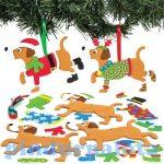 Kreatív hobby - Készletek, dekorációk - Karácsonyi kölykök függődísz készítő szett, Baker Ross
