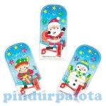 Kreatív hobby - Karácsonyi mini flipper