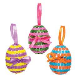 Kreatív hobby készletek - Mozaik húsvéti tojás függődísz készítő készlet