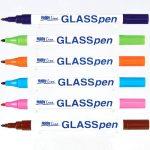 Írószerek - Üvegfestékek - Üvegíró toll, Baker Ross