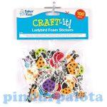 Kreatív hobby- Készletek - Katicás habszivacs matrica
