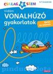 Könyvek - Vidám vonalhúzó gyakorlatok - Betűk és számok