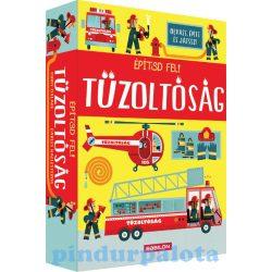 Foglalkoztató könyvek, füzetek - Építsd fel! Tűzoltóság