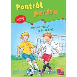 Foglalkoztató könyvek, füzetek - Pontról pontra Misi és Matyi a focipályán