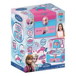 Lányoknak - Szépítkezés - Kozmetikai szett - Hordozható szépségstúdió - Disney - Jégvarázs