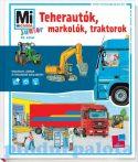 Könyvek - Mi MICSODA Junior Teherautók, markolók, traktorok