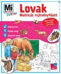 Mesekönyvek - Mi MICSODA Junior matricás rejtvényfüzet Lovak