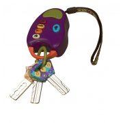 Rágókák - Hangadó rágható kulcsok lila B.Toys