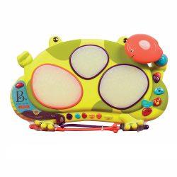 Játék hangszerek gyerekeknek - Békadob zenélő játék - légyelkapó funkcióval B.Toys