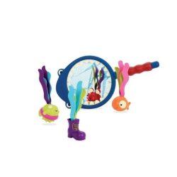 Pancsolós játékok - B.Toys Cápás halász készlet