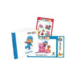 Mesekönyvek - Pocoyo Ajándékcsomag (könyv, matricagyűjtőalbum, matricacsomag)