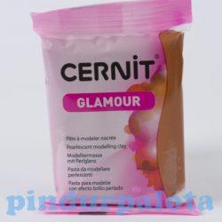 Gyurmák - Cernit - Süthető gyurma, Réz Glamour színben, 56 g