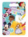 Kifestők - Színezők - Rajztömb sablonokkal Disney Junior