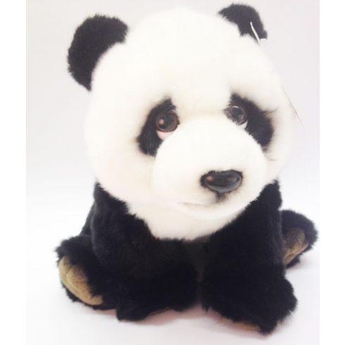 Plüss Panda - fekete-fehér - 38cm