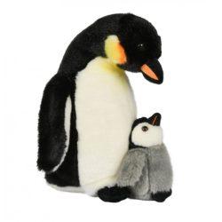 Plüss állatok - Császár pingvin és kölyke