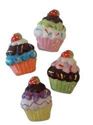 Hűtőmágnesek - Muffin hűtőmágnes