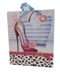 Party kellékek - Ajándéktasak, cipős, női