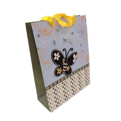 Party kellékek - Ajándéktasak, cicás, pillangós