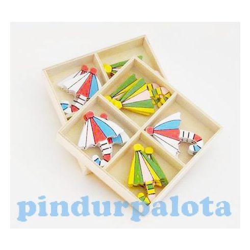 Kreatív hobby készletek - Dekorációk - Fa öntapadós napernyő