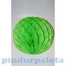 Party díszek - Dekor lampion labda papír zöld
