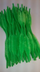 Kézműves kellékek - zsenilia drót zöld