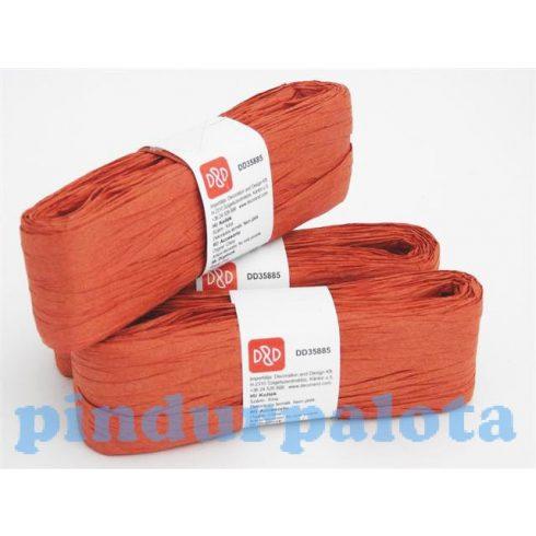 Kreatív hobby készletek - Dekoráció - Papírszalag piros színben