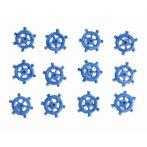 Kézműves kellékek - Dekorációs elemek - Öntapadós hajókormány, poly, kék