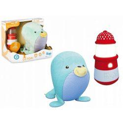 Interaktív játékok gyerekeknek - OCTOPI Fóka, funkciós plüss