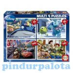 Puzzle kirakók - Educa pixar mesehősök