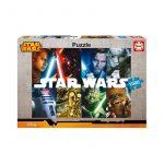 Puzzle 1500 - Educa Star Wars