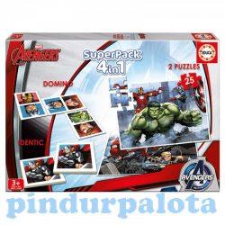 Gyerek Puzzle - Bosszúállok szupercsomag