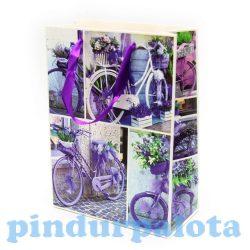 Ajándék tasakok - Ajándéktasak biciklis