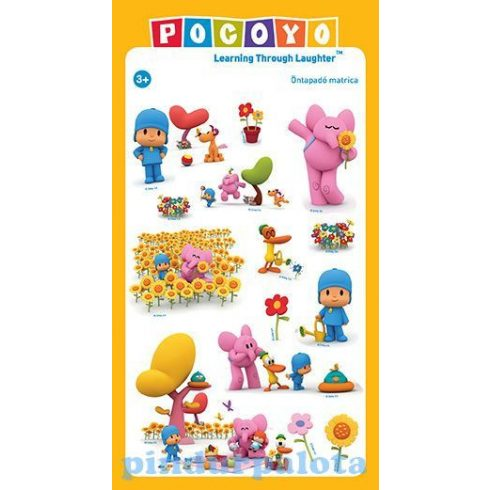 Pocoyo ajándék - Tavaszi matrica szett Pocoyoval