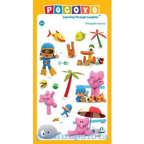Pocoyo ajándék - Nyári matrica szett Pocoyoval